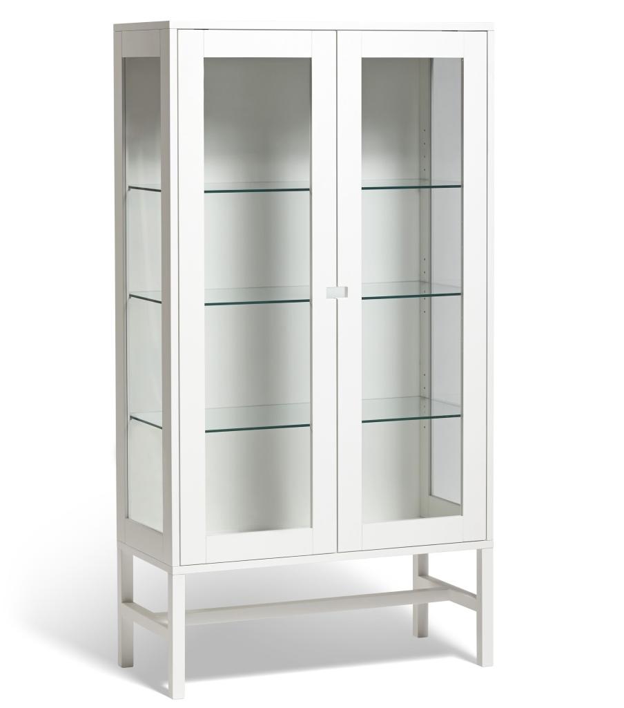 Falsterbo vitrinskåp glas 150cm Mavis