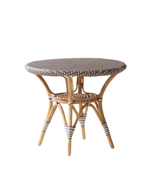 Danielle Ø60 sidobord cappuccino rotting Sika-Design