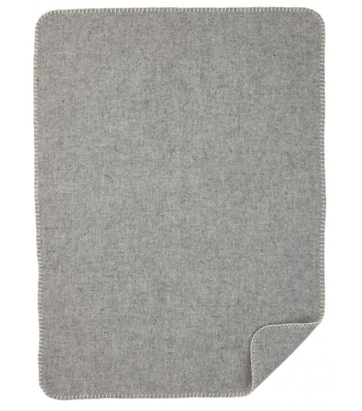 Soft Wool Baby barnfilt grey Klippan Yllefabrik