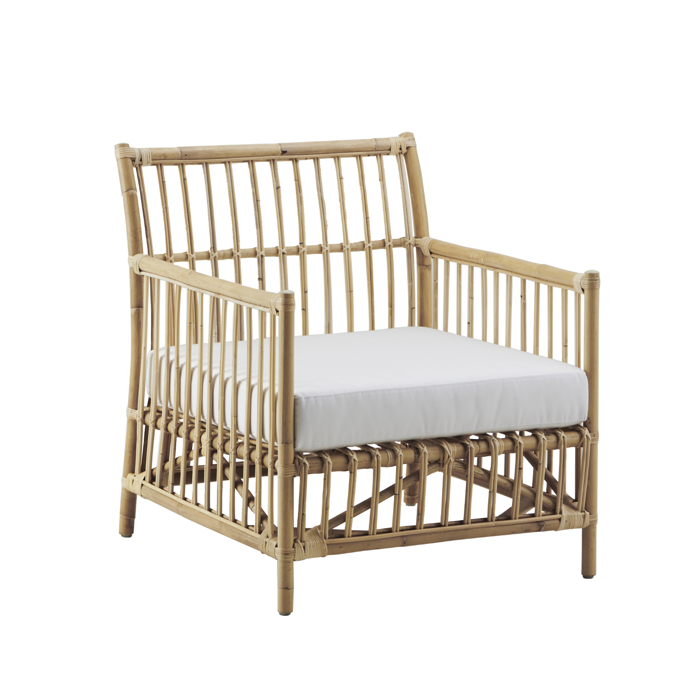 caroline lounge chair natur rotting sika design. Black Bedroom Furniture Sets. Home Design Ideas