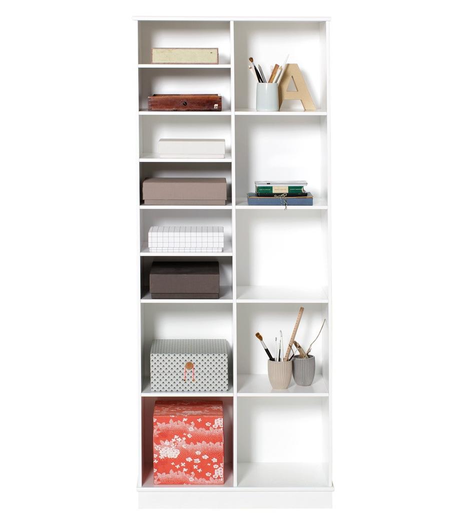 Wood bokhylla 2 x 5 med sockel Oliver Furniture