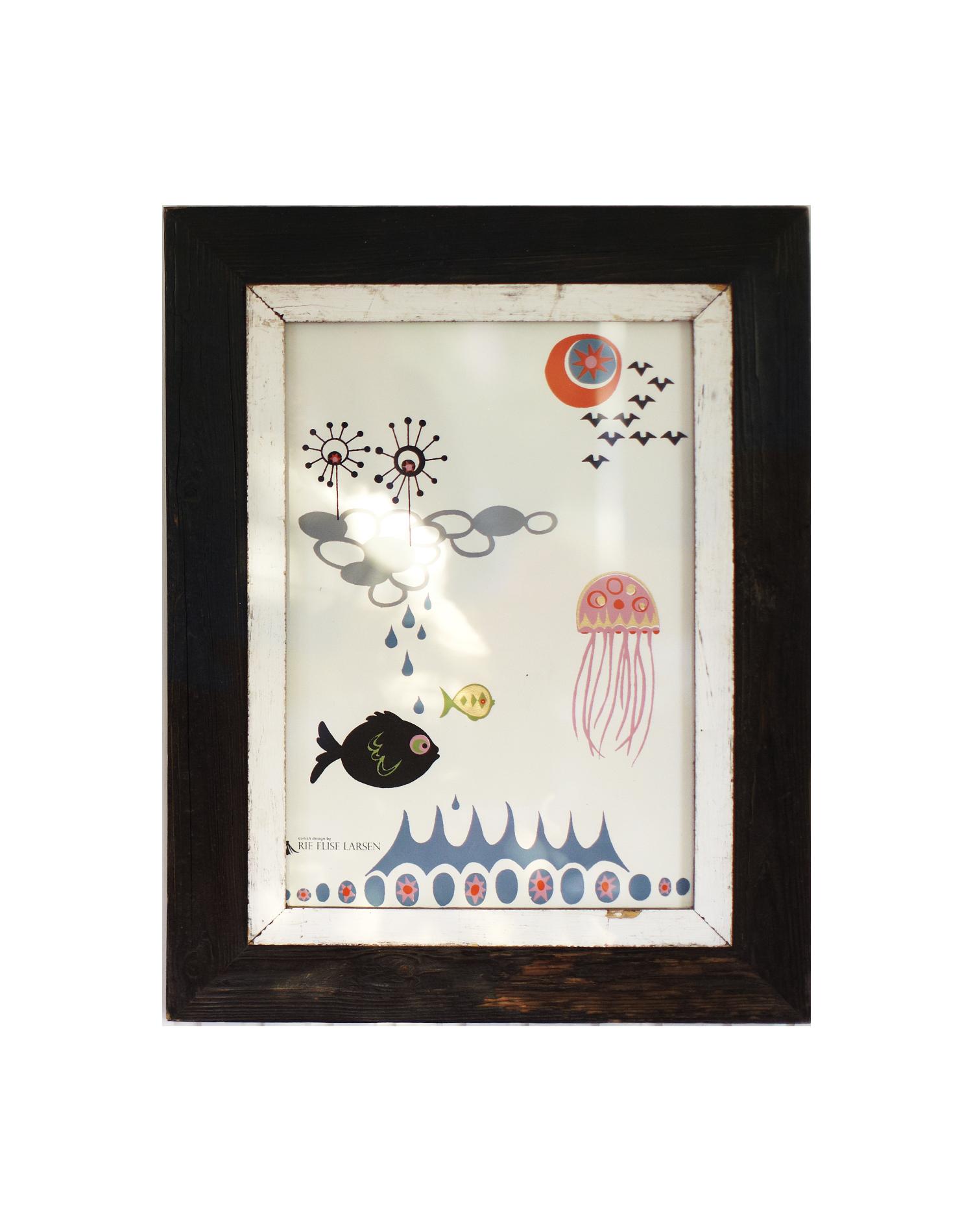 Jelly Fish Poster 42×295 cm Rie Elise Larsen