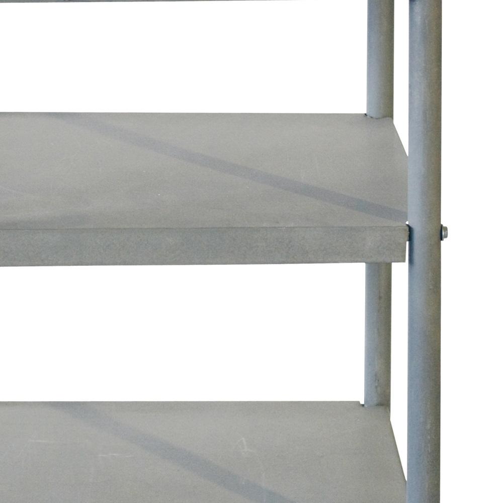Rullbord i zink med låda 390042, Bloomingville