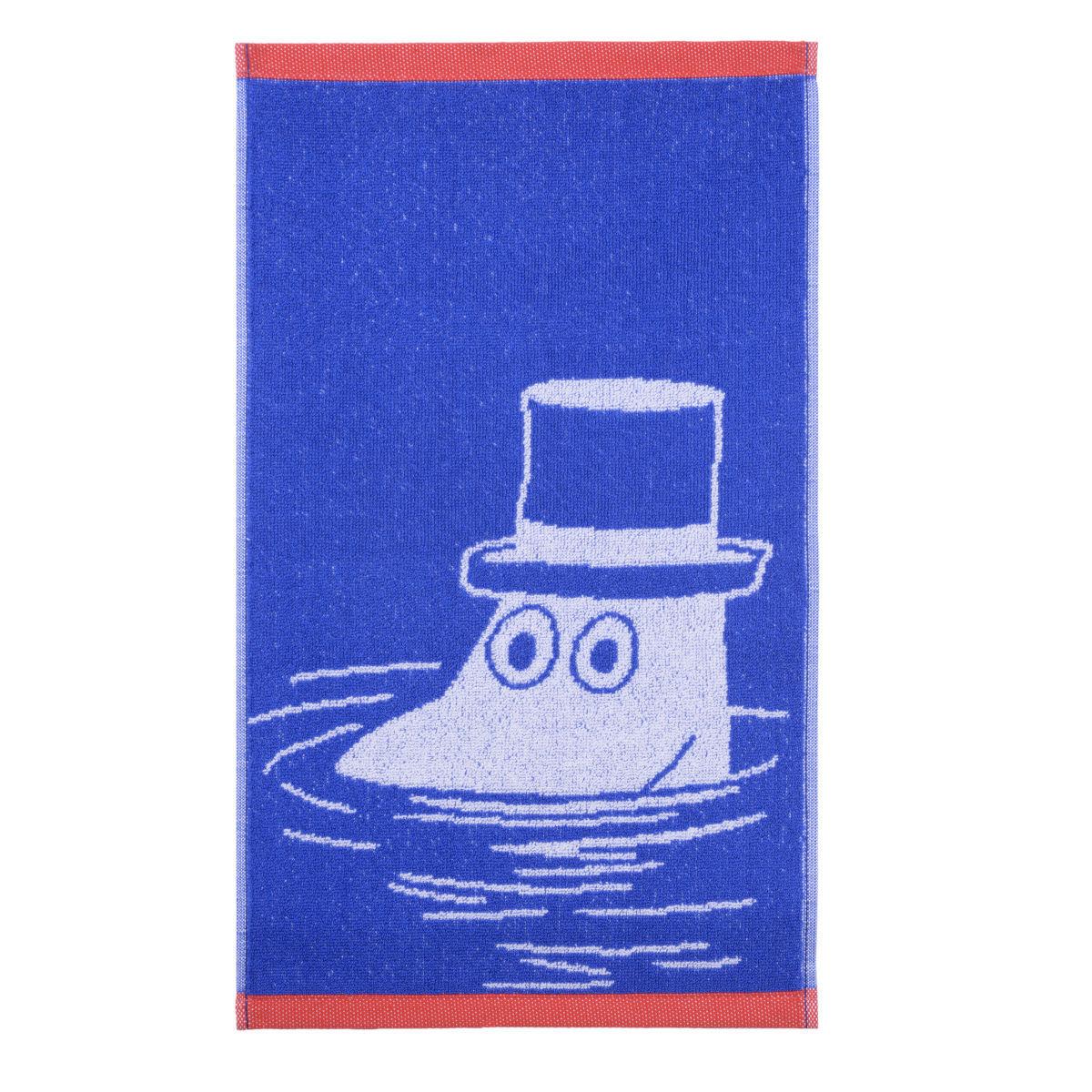 Muminpappan handduk blå/röd Finlayson