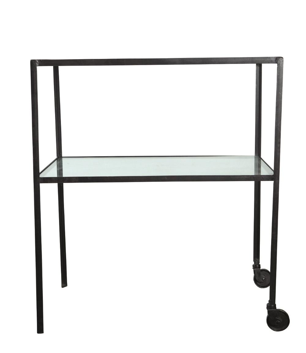 drinkvagn i metall och glas house doctor. Black Bedroom Furniture Sets. Home Design Ideas