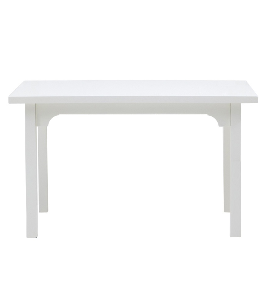 Avlastningsbord 85 x 46 cm vit, Oliver Furniture