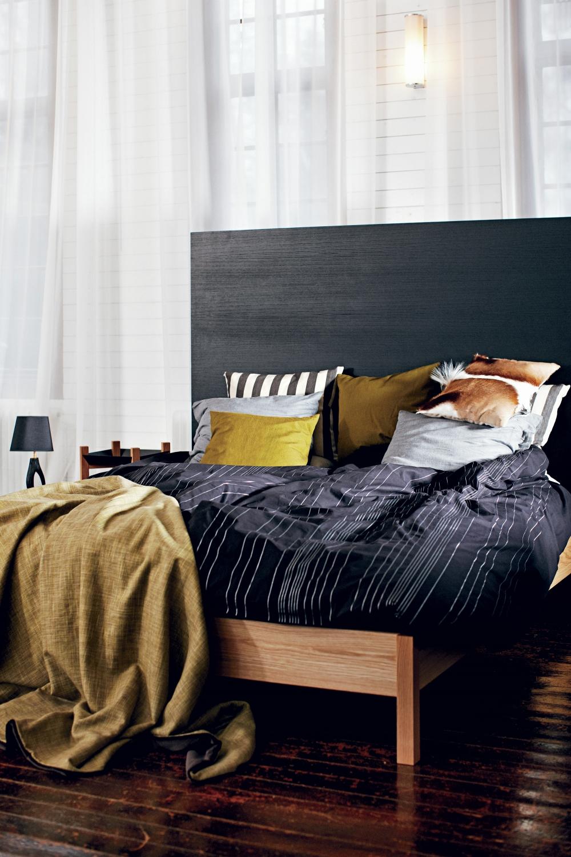 Sängram Visby 180 x 200 cm drivvedslasyr, Mavis
