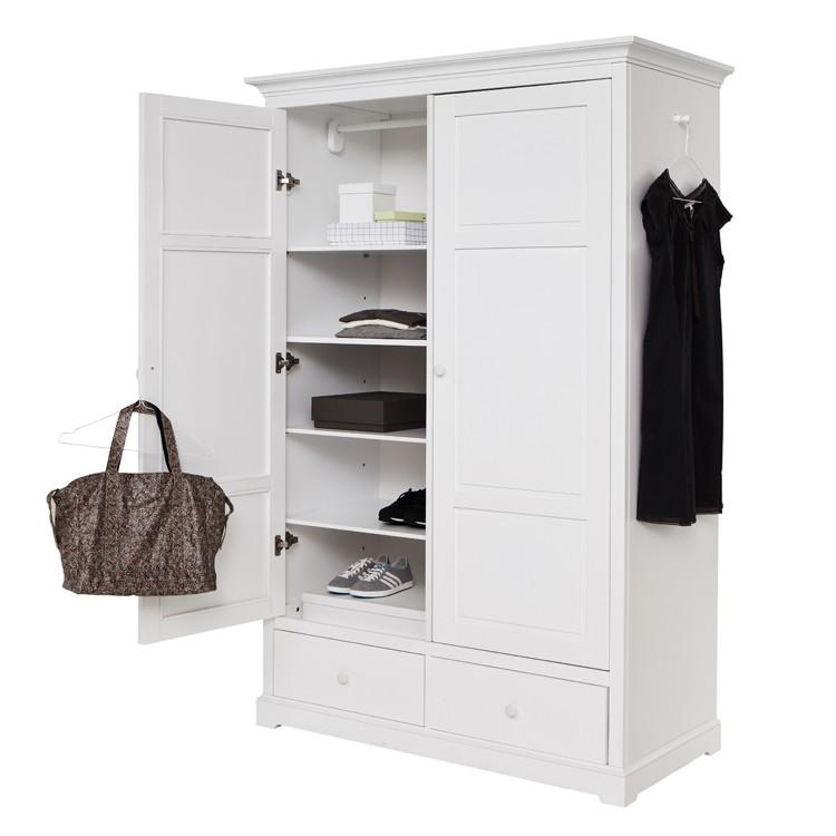 Oliver Furniture garderob med två dörrar H195