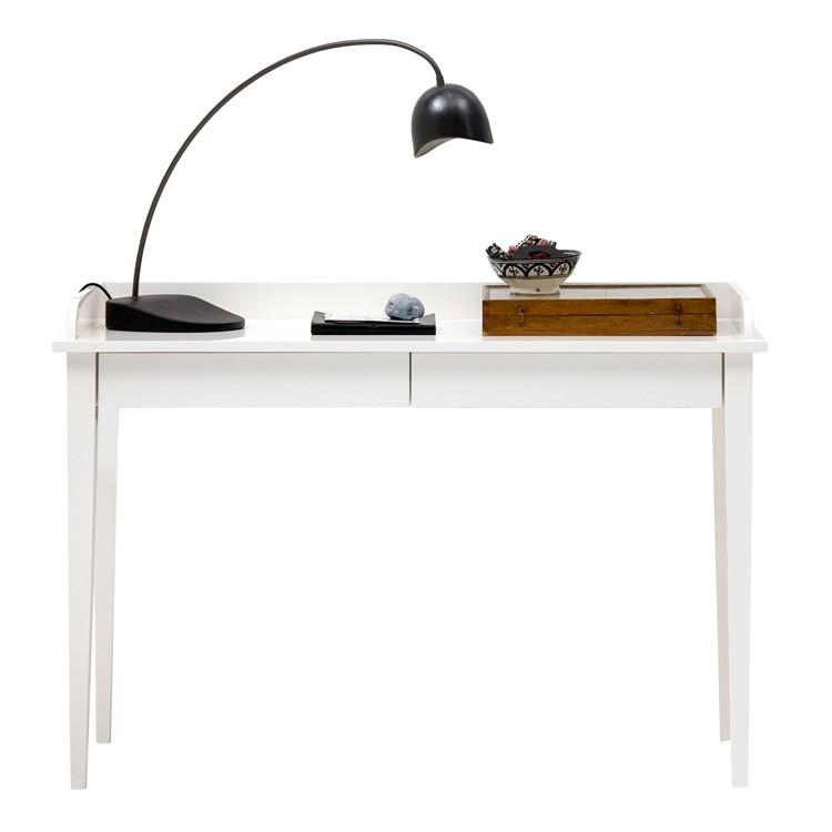 Konsolbord / Skrivbord vit 091012 Oliver Furniture
