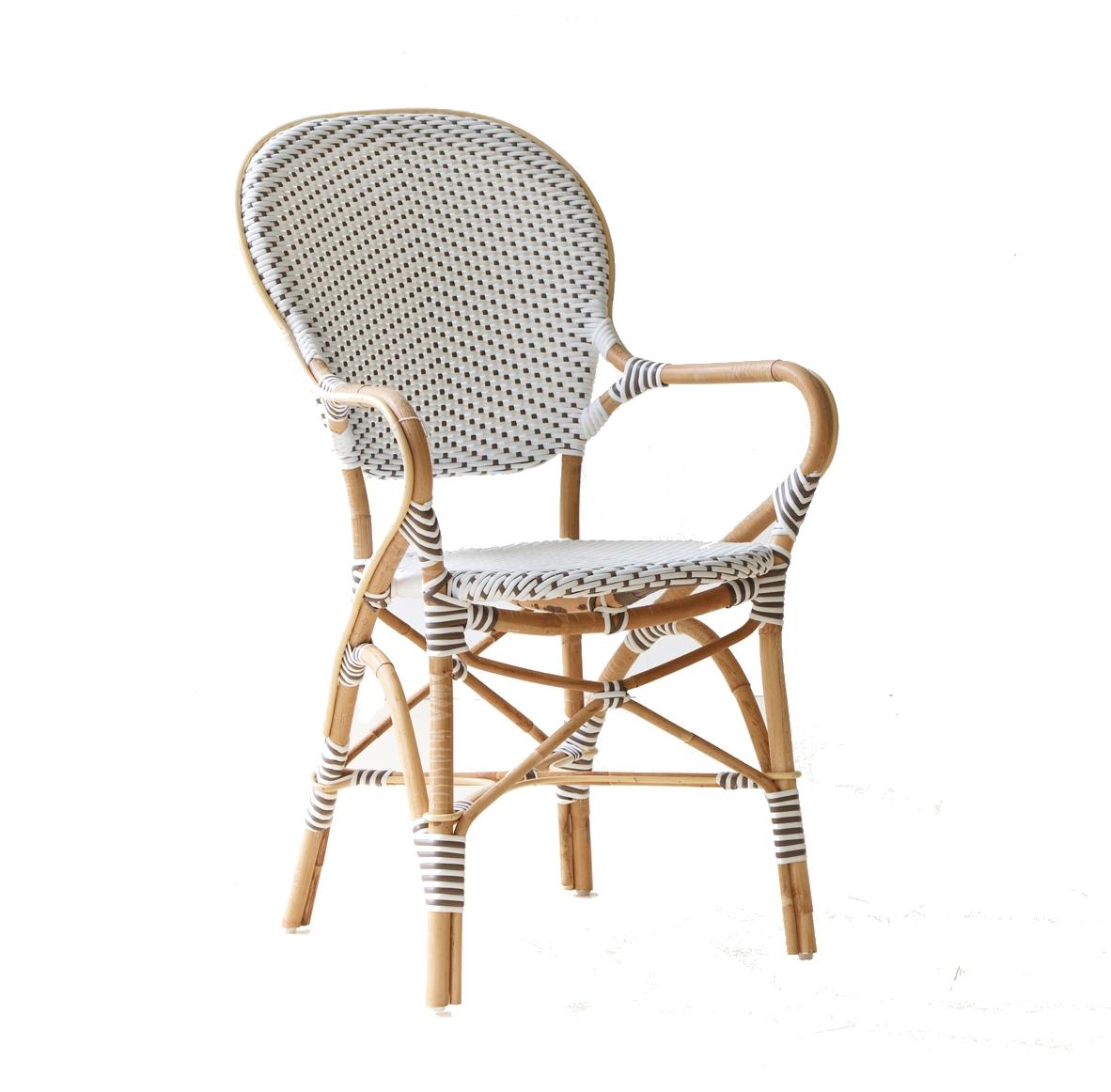 isabell caf stol karmstol vit sika design. Black Bedroom Furniture Sets. Home Design Ideas