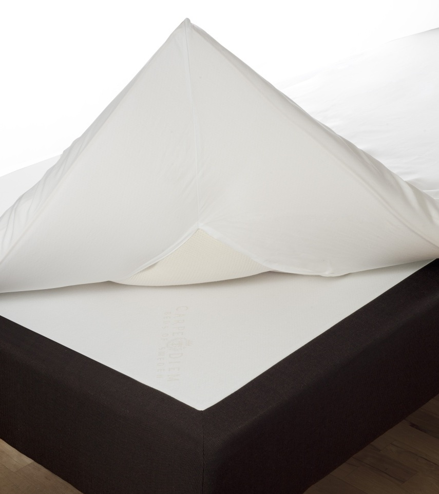 Kuvertlakan 90 x 200 percale vit Värnamo of Sweden