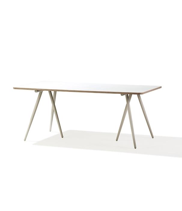 Turn bordsunderrede 180 x 90 cm vit Cane-line
