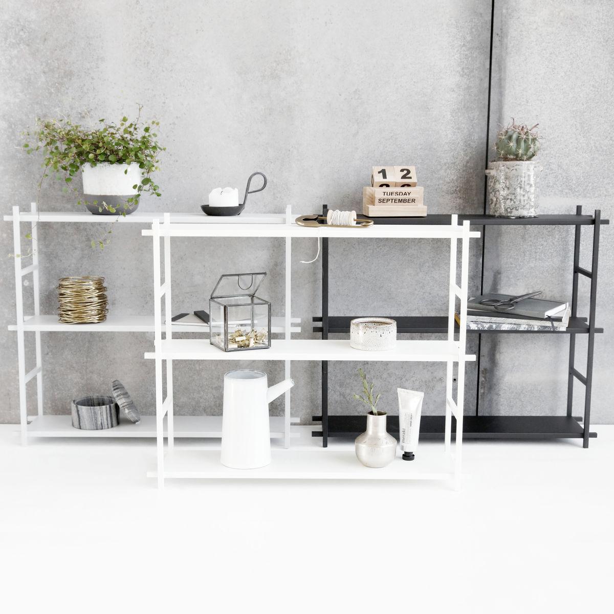 Hylla Shelf Simple H 50 Cm Grey, House Doctor