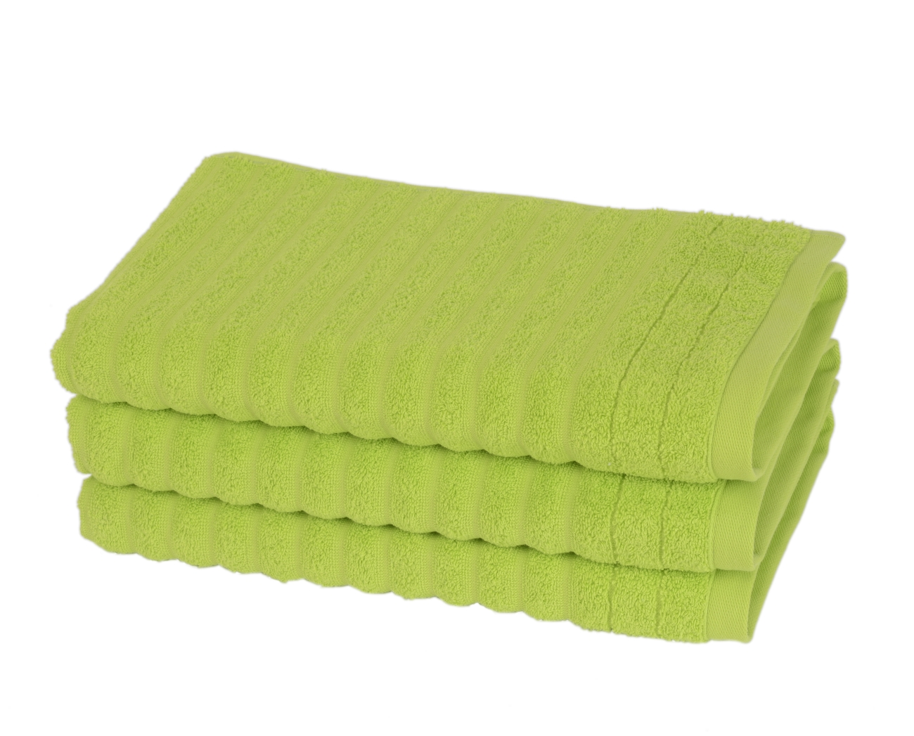 Fairtrade Frotté 70 x 150 cm lime Finlayson