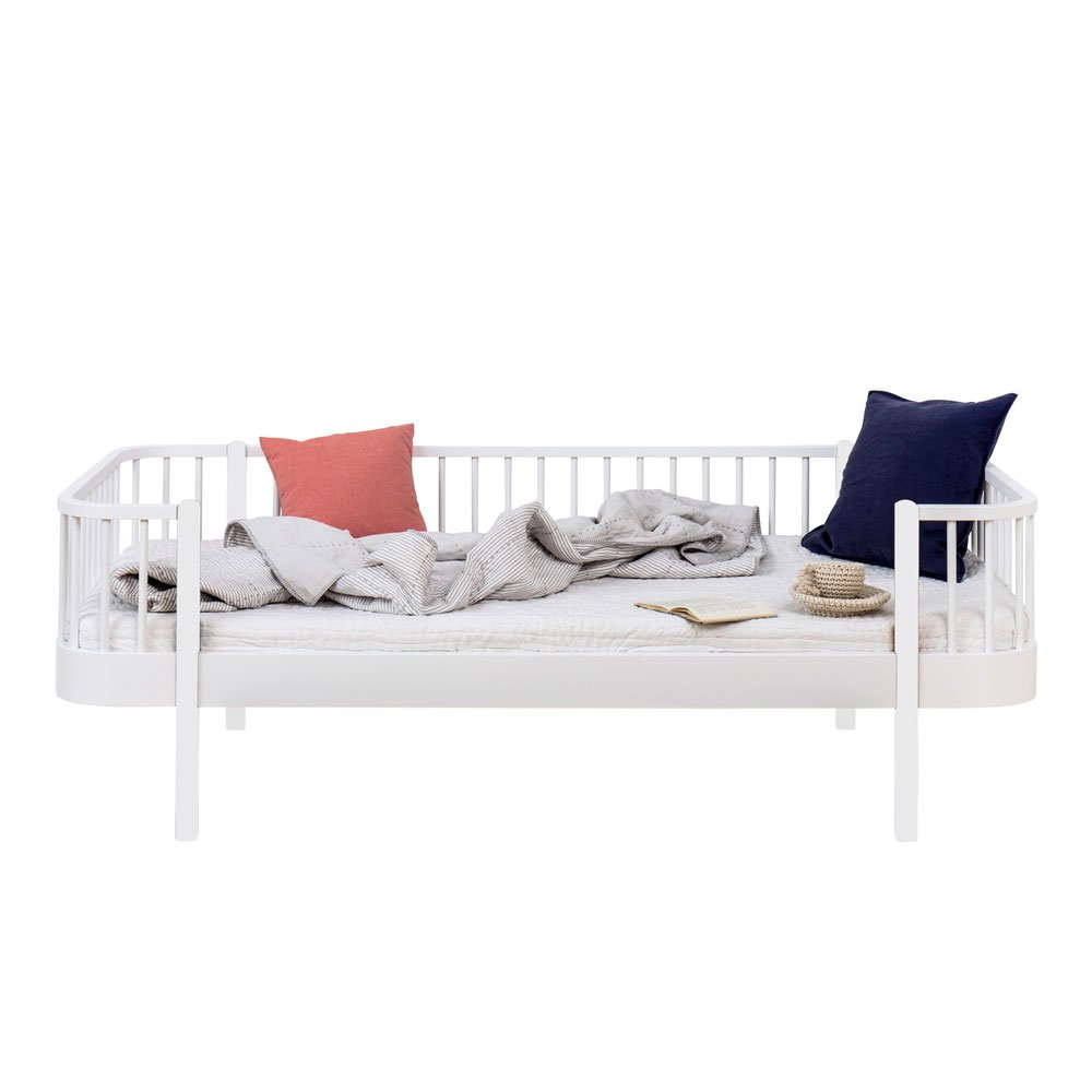 Dagbädd Wood Collection vitlack Oliver Furniture