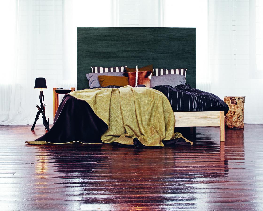 Sängram Visby 90 x 200 cm vitlack, Mavis