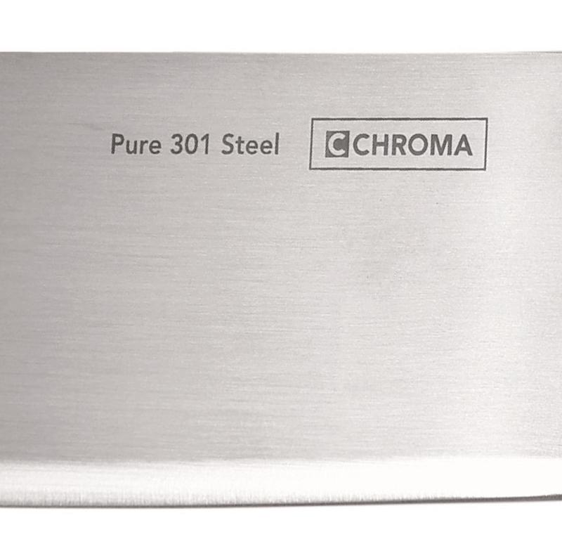 CO2-laser Gravyr på kockkniv