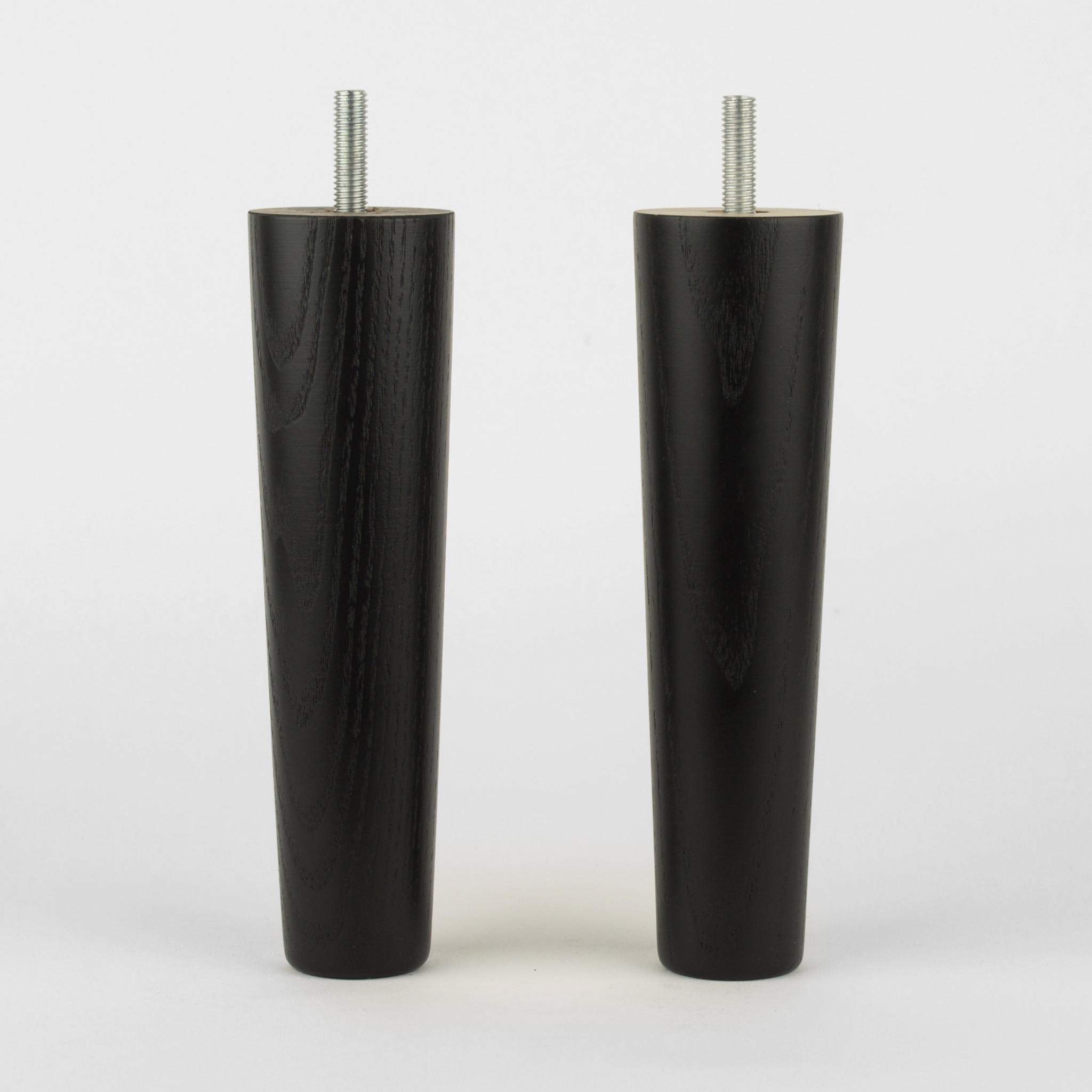 Carl 170 möbelben 4-pack black Prettypegs
