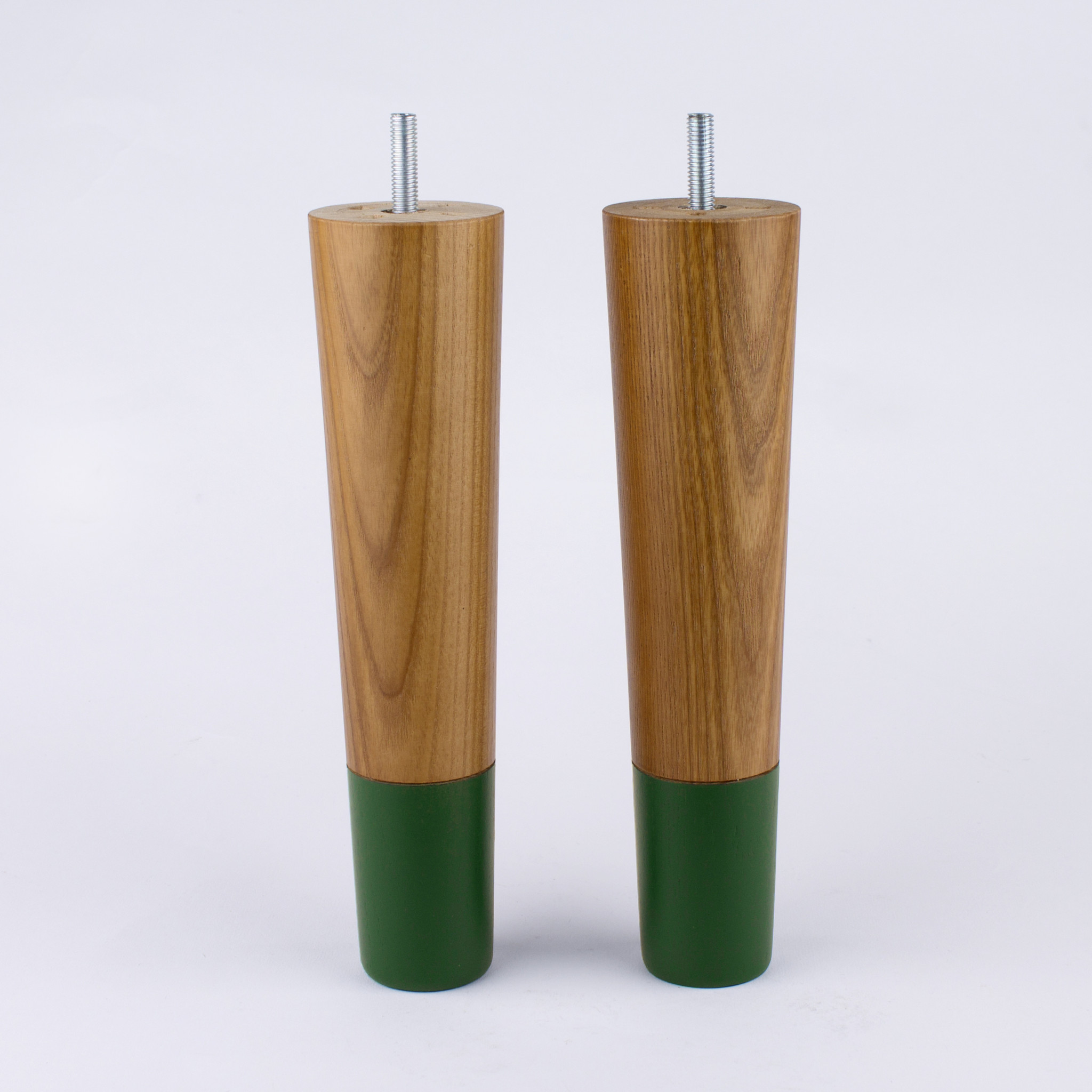 Carl 230 möbelben 4-pack teak forest green Prettypegs