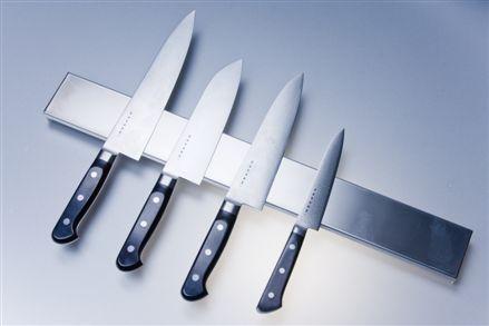 Knivlist i rostfritt stål 75cm magnetisk Satake