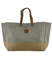 Shoppingbag CARRIE jute grey, House Doctor