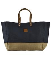 Shoppingbag CARRIE jute blue, House Doctor