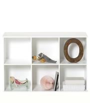 Wood bokhylla 3 x 2 för vägg, Oliver Furniture