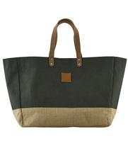 Shoppingbag CARRIE jute green, House Doctor
