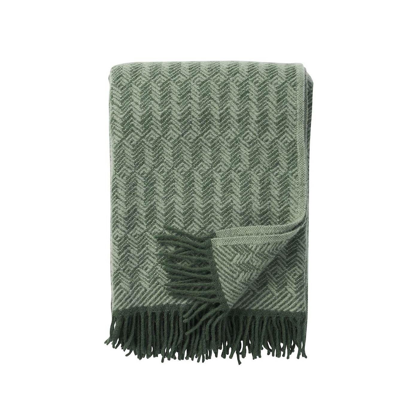 klippan filt grön