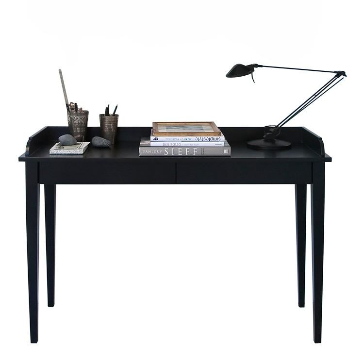 Konsolbord-Skrivbord / svart, Oliver Furniture