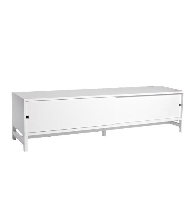 Falsterbo TV-bänk med skjutdörrar 180 cm, Mavis