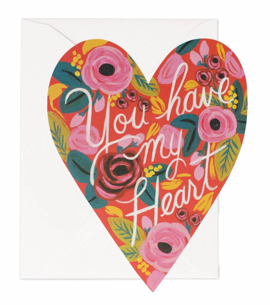 Kort Kärlek You Have My Heart, Rifle Paper Co