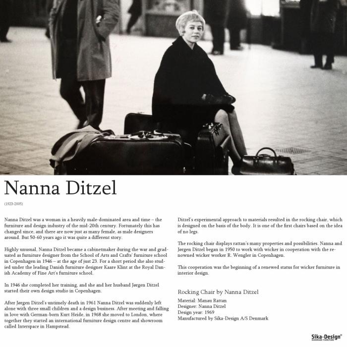 ND15 Nanny gungstol natur, Sika-Design