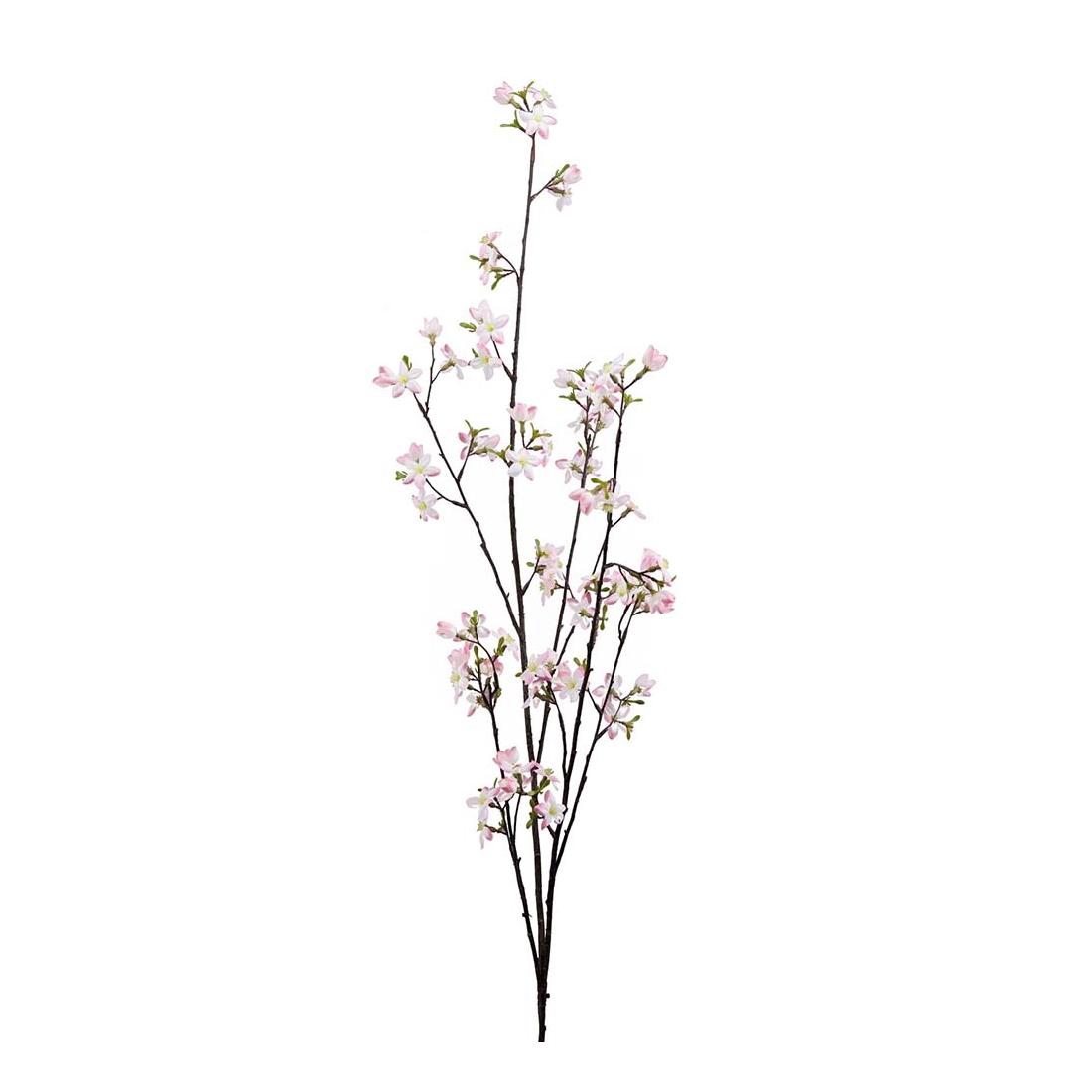 Konstväxt Körsbärsblommor 140 cm vit