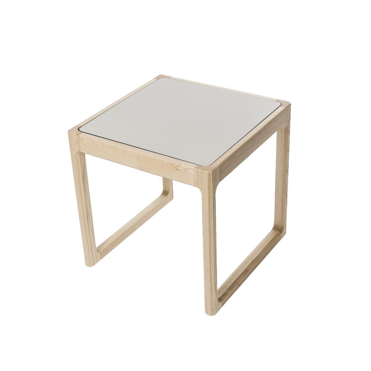 Flip Top bord turkos/ ljusgrå, Sebra Interiör