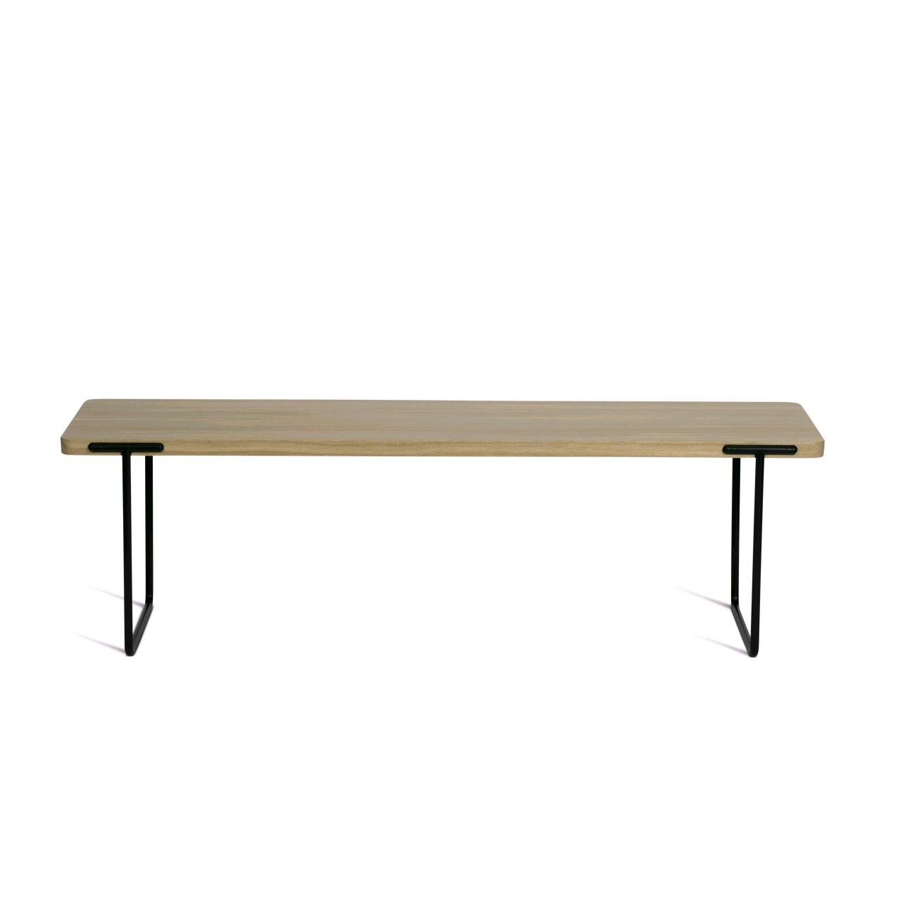 Avlångt soffbord 140 cm  ek, Mavis