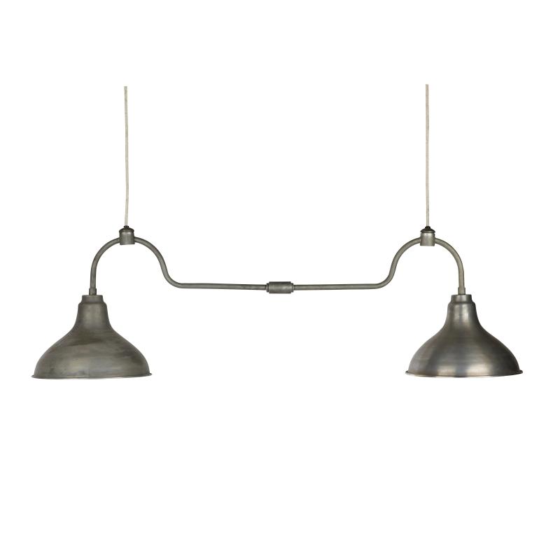 Dubbel industrilampa vintage, Hubsch