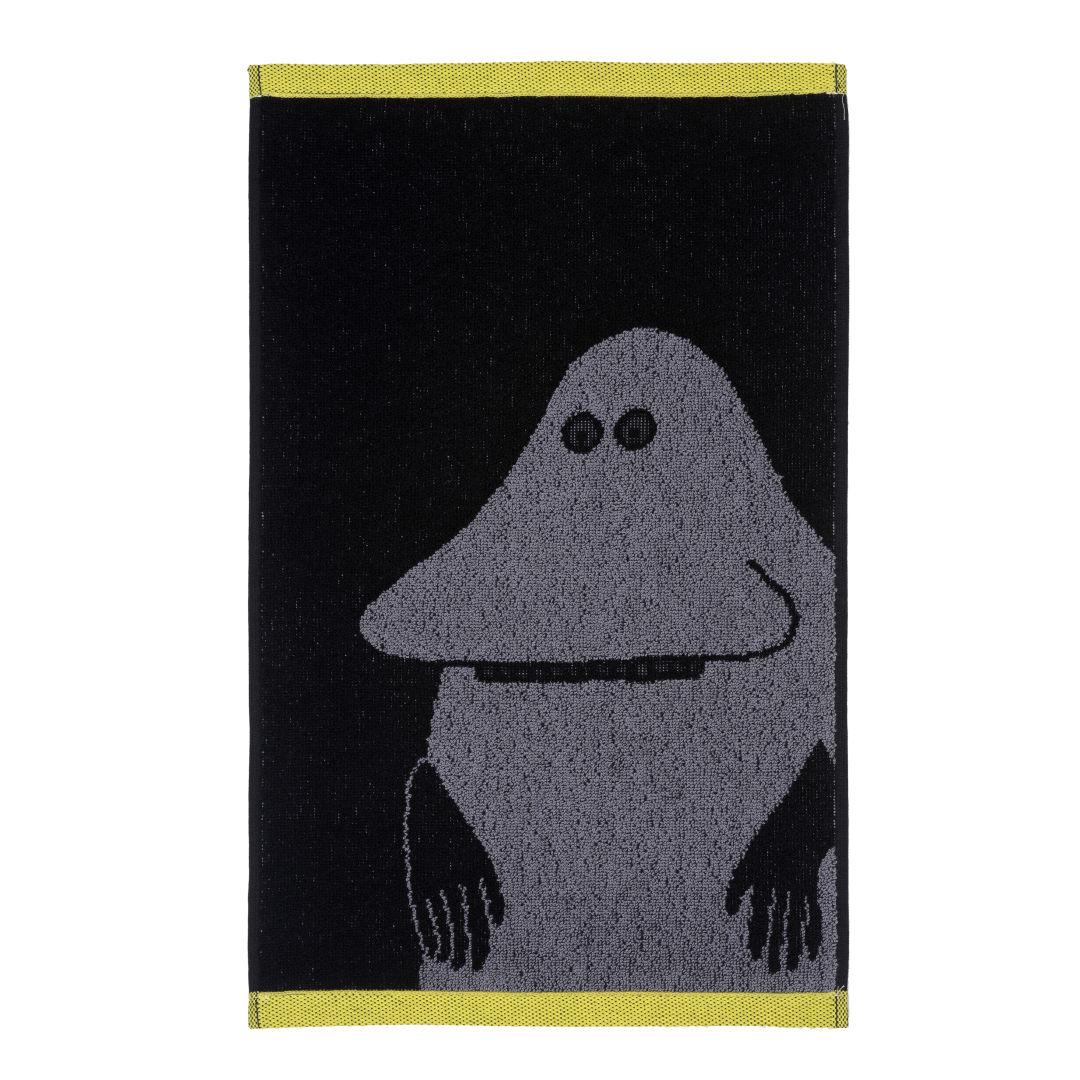 Mårran handduk svart/gul, Finlayson