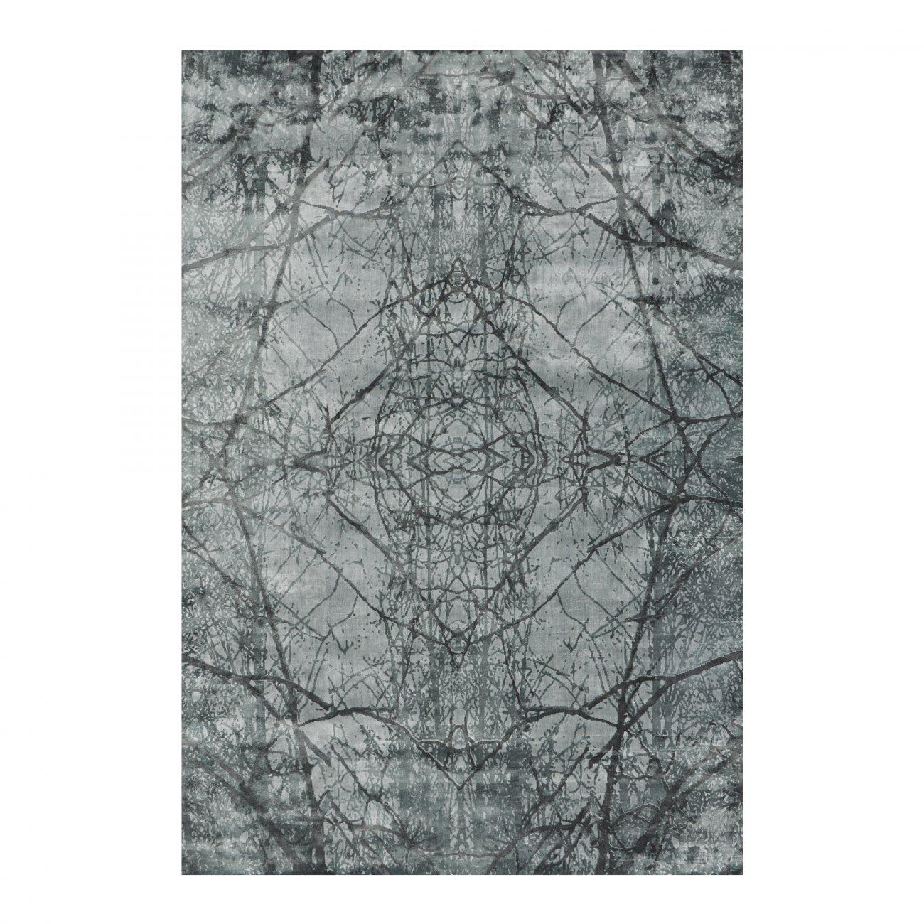 Viskosmatta AIMI 140 x 200 cm slate, Linie Design