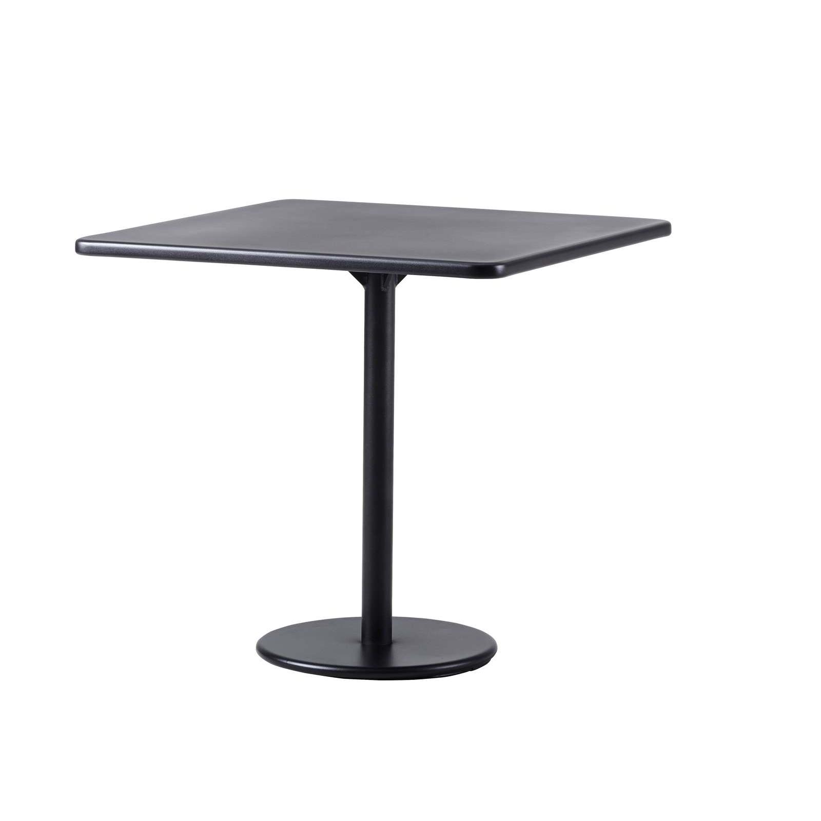 Cafébord GO 70 x 75 cm lavagrå, Cane-line