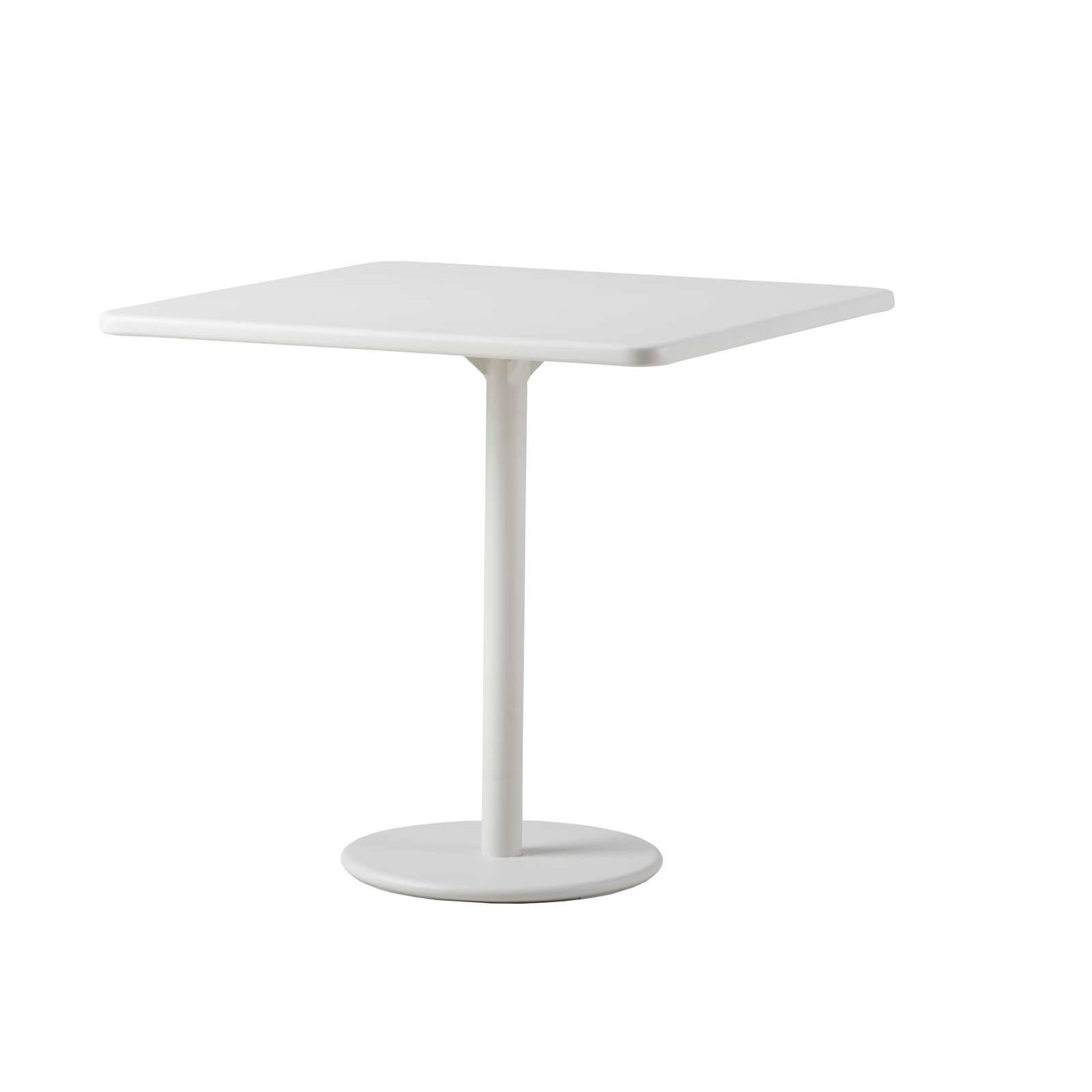 Cafébord GO 70 x 75 cm vitlack, Cane-line