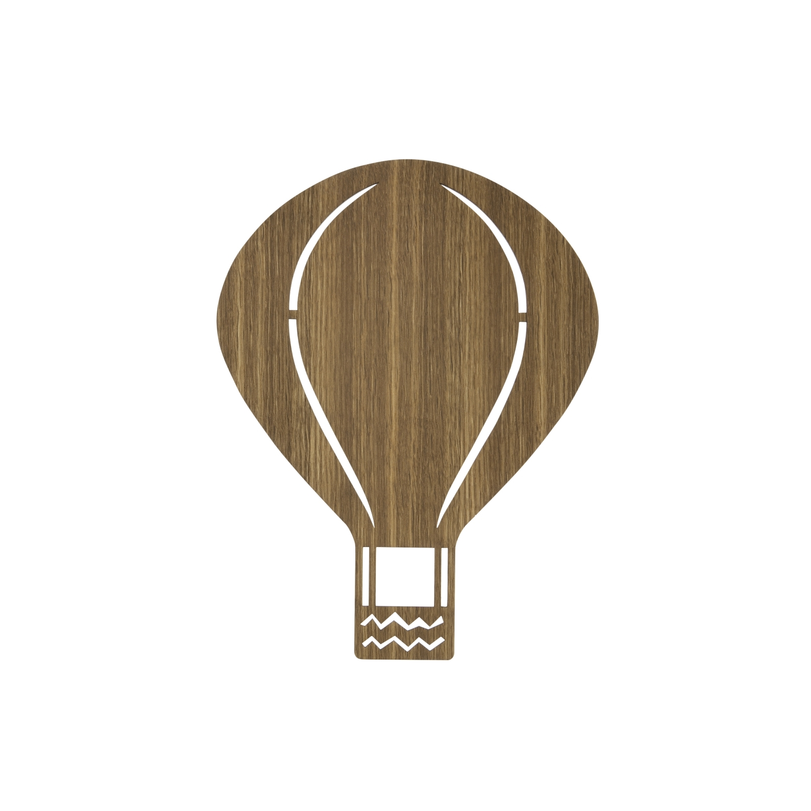 Barnlampa Air Balloon smoked oak, Ferm Living