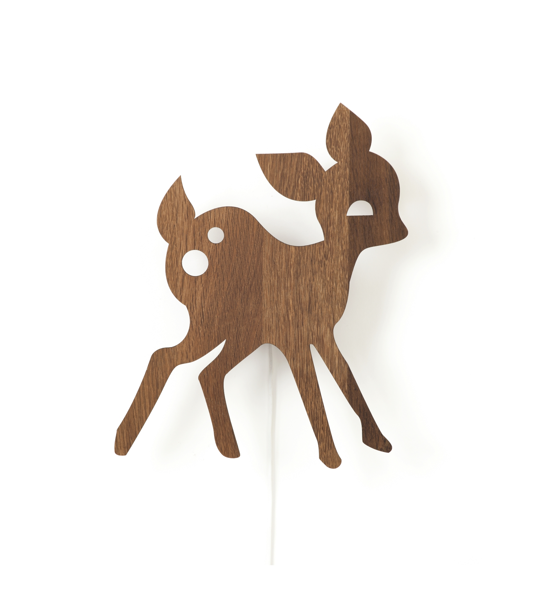Barnlampa My Deer smoked oak, Ferm living