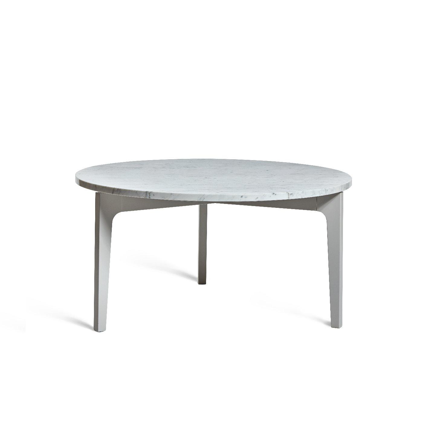 Höllviken soffbord ljusgrå / marmor Mavis
