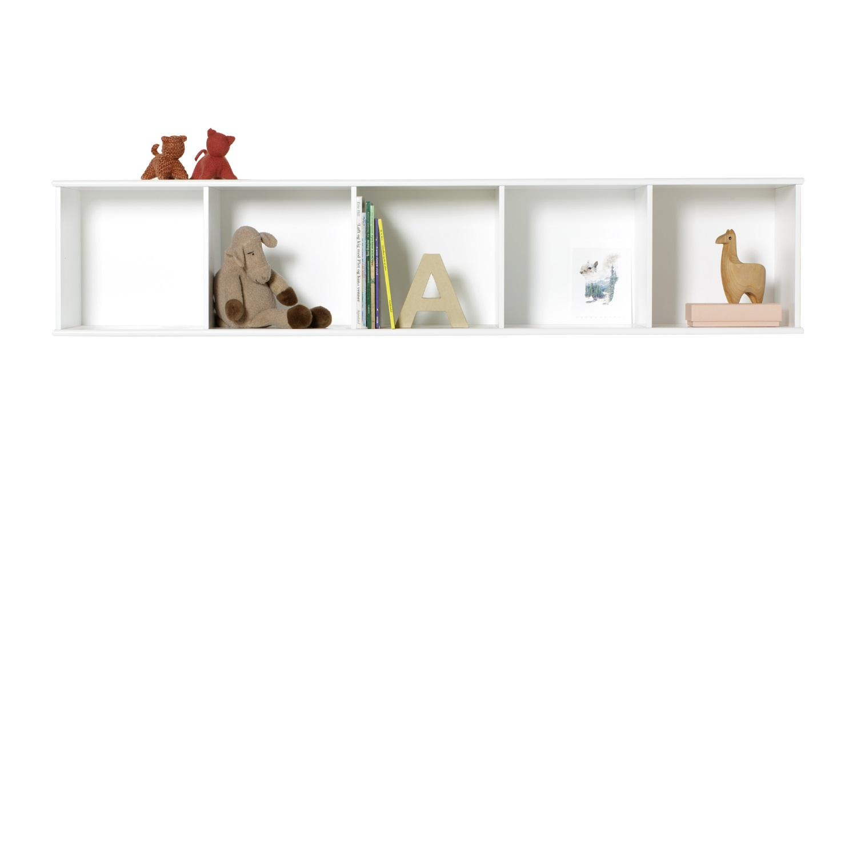 Wood horisontal hylla 5 x 1 för vägg, Oliver Furniture thumbnail