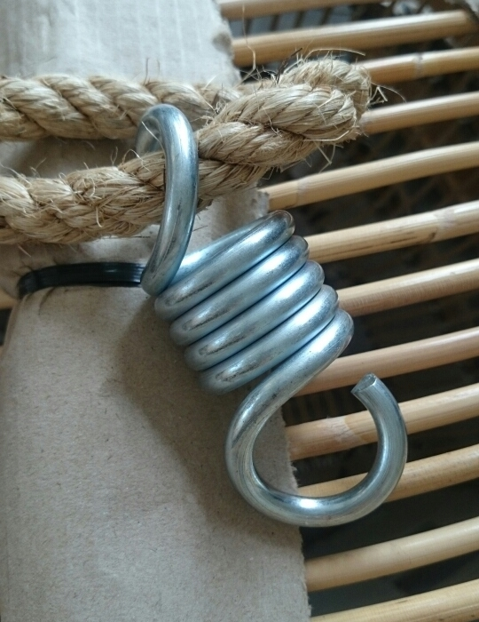 Hängstol Renoir 3080T rotting taupe, Sika Design