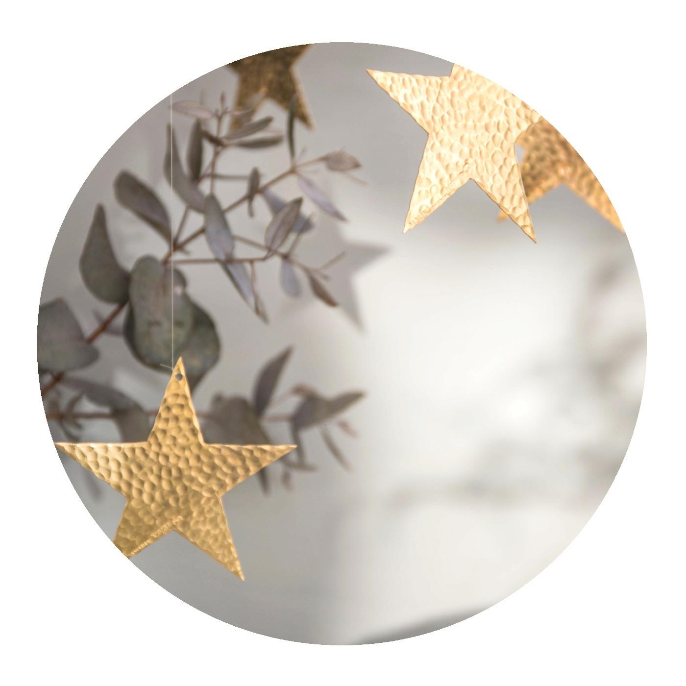 Malin Appelgren Juldekoration Stjärna mässing