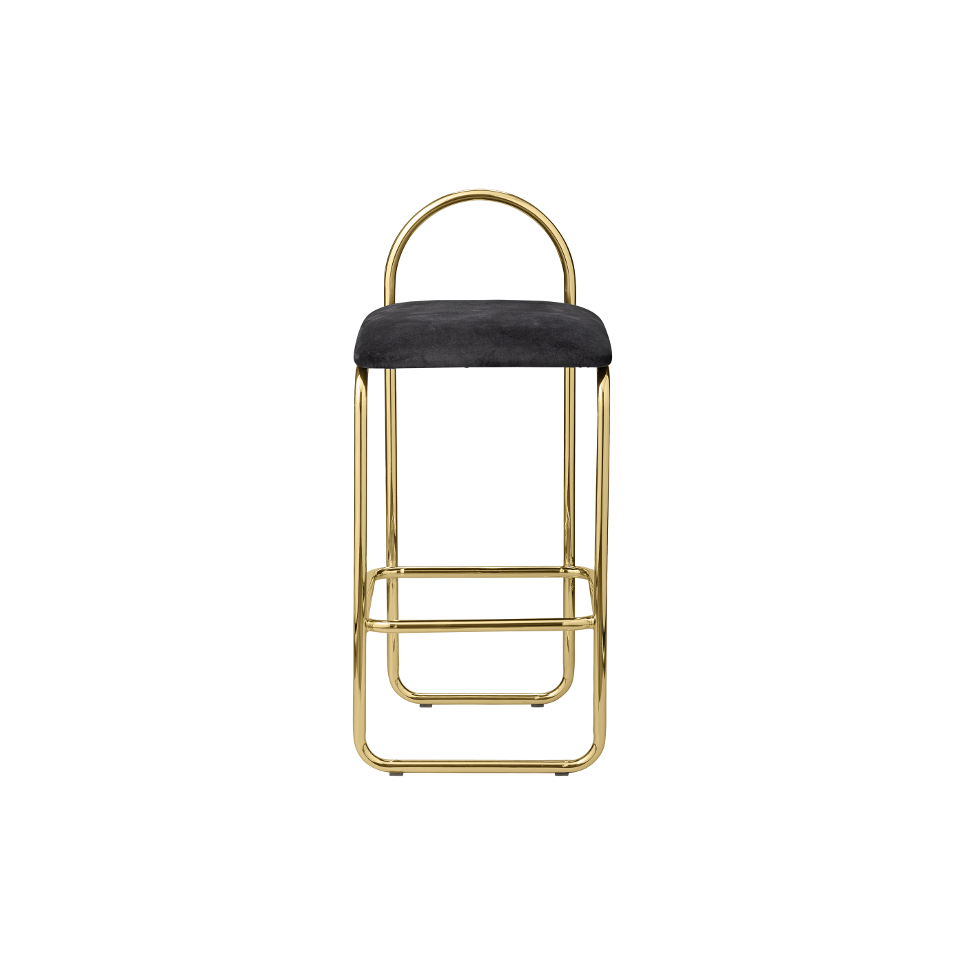 ANGUI bar chair low gold/anthracite, AYTM