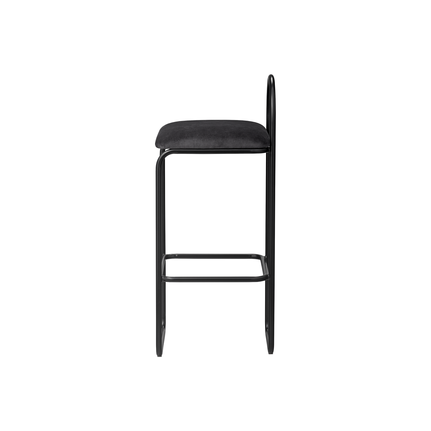 ANGUI bar chair high anthracite, AYTM