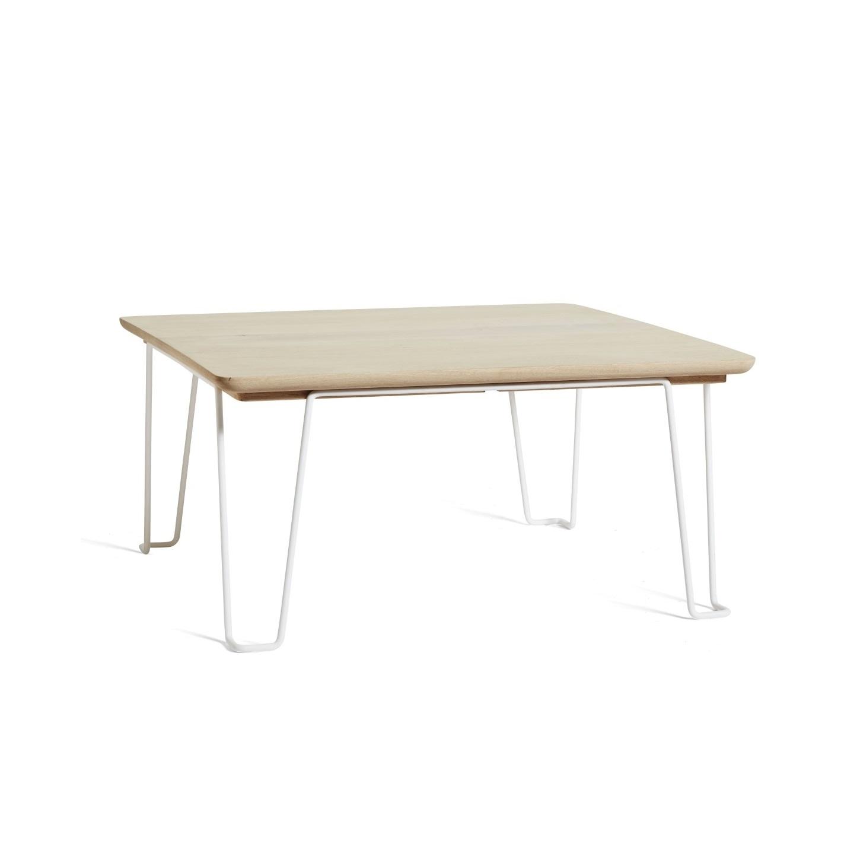 GAUCHO soffbord såpad ek / vit, Mavis